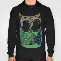 Whimsical Owl Hoody