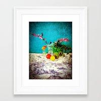 Manda's Kitchen Framed Art Print