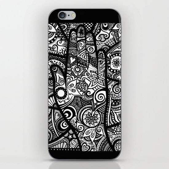 The hand of righteousness iPhone & iPod Skin