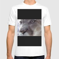 Cougar Mens Fitted Tee White SMALL