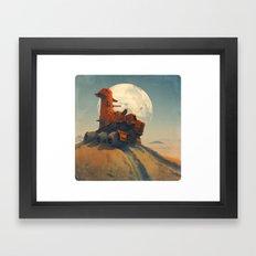 Armored Goose Framed Art Print