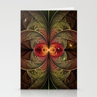 Autumn Galaxy Stationery Cards