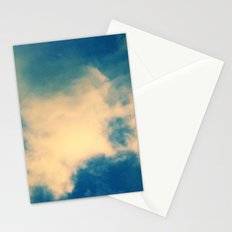 The Blue Sky Clouds Stationery Cards