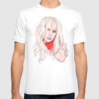 Billboard Woman Of The Y… Mens Fitted Tee White SMALL