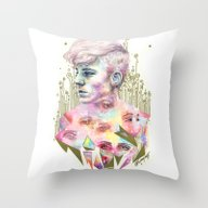 Who Broke You? Throw Pillow