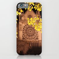 iPhone & iPod Case featuring Midnight Blossoms by Samantha MacDonald