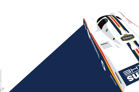 Porsche 962C, 1985 Art Print