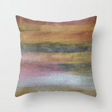 Color plate - rusty Throw Pillow
