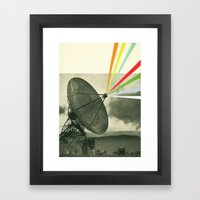 Earth Calling Framed Art Print