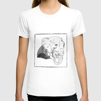 Pack you trunk  Womens Fitted Tee White SMALL