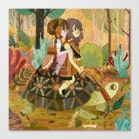 Tortoise Ride Canvas Print