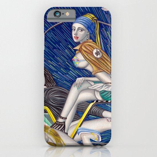 少女時代 - Girls Generation / Gouache Original A4 Illustration / Painting iPhone & iPod Case