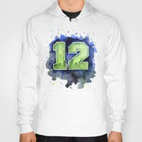 12th Man Seahawks Seattl… Hoody