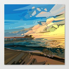 summer beach 1 Canvas Print