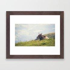 Good Afternoon Framed Art Print