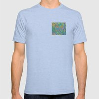 Verdant Mens Fitted Tee Athletic Blue SMALL