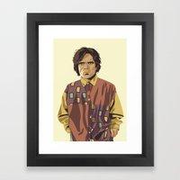 80/90s - T.L Framed Art Print