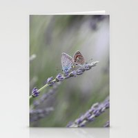 Lavender Butterflies - J… Stationery Cards