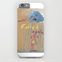 iPhone & iPod Case featuring Best Laid Plans of Clouds and Rain by Elisa Wikey