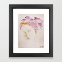 In The Shades Framed Art Print
