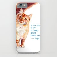 If You Died iPhone 6 Slim Case