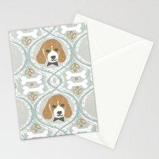 dapperific dog Stationery Cards