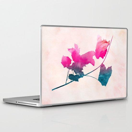 Maple_Watercolor 1 by Jacqueline & Garima Laptop & iPad Skin