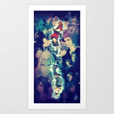 Kingdom Hearts Art Print