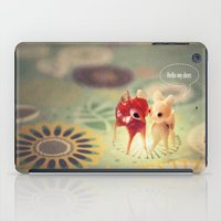 Hello My Deer iPad Case