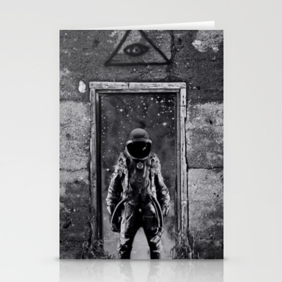 The man from earth Stationery Card