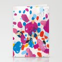 Fuchsia Physics Stationery Cards