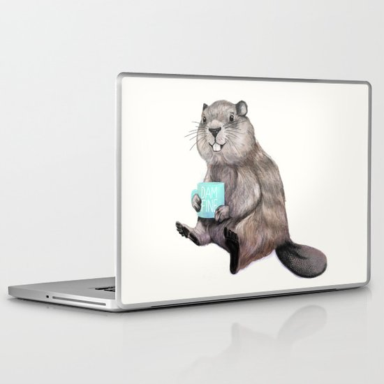 Dam Fine Coffee Laptop & iPad Skin