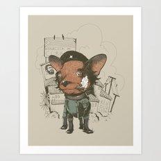Che huahua Art Print