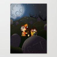 midnight adventure Canvas Print