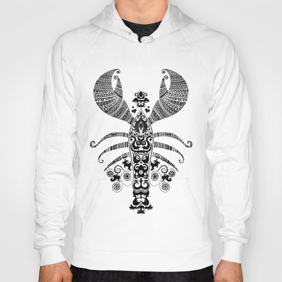 17th Century Lobster Hoody