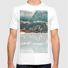 Yosemite Valley - Fall Colors Mens Fitted Tee White SMALL