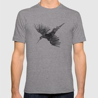 Rad's Birds Mens Fitted Tee Athletic Grey SMALL