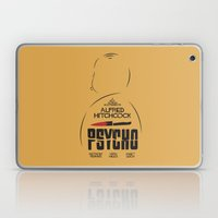 Psycho - Alfred Hitchcock Movie Poster Laptop & iPad Skin