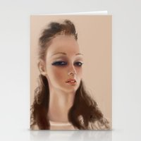 Cr4stal  Stationery Cards