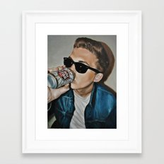 Ross And Lonestar Framed Art Print