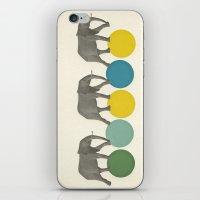 Travelling Elephants iPhone & iPod Skin