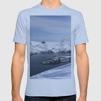 Blackstone Bay Mens Fitted Tee Athletic Blue SMALL