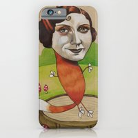 iPhone & iPod Case featuring FOXY by busymockingbird