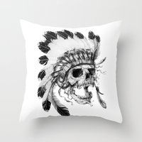 Wild, Wild West Throw Pillow