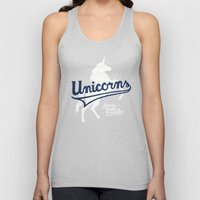 Unicorns Unisex Tank Top
