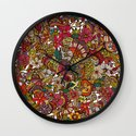 I spy... in colors Wall Clock