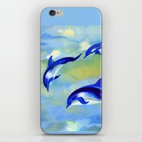 Dolphin Fantasy iPhone & iPod Skin