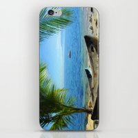 Boats at Las Caletas iPhone & iPod Skin