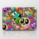 Puke Pattern iPad Case