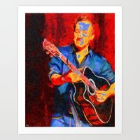The Guitarist Art Print